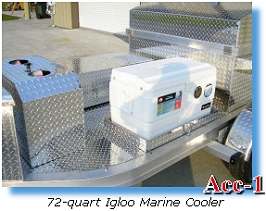 72-quart Igloo Marine Cooler