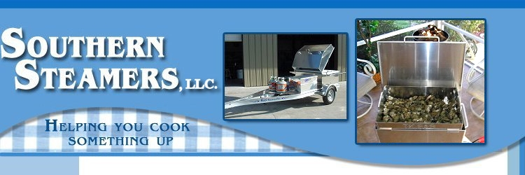 Trailer grill and seafood steamers