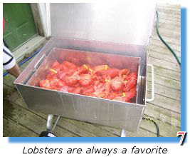 Use it as a lobster steamer