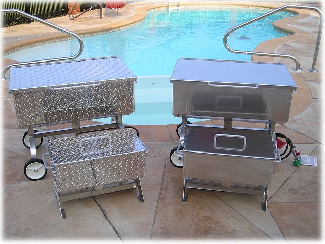 Oyster Shrimp Amp Crab Seafood Steamers And Barbecue Grill